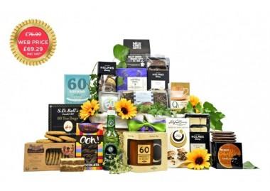 60th Birthday Hamper Gifts: Fancy Pantry