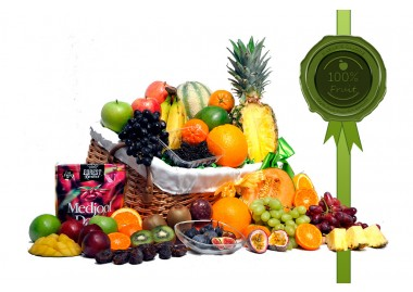 Mega Energy Fruit Gift Basket