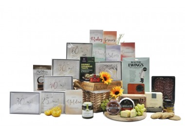 Happy Anniversary Feast Hamper Gift