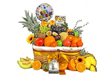 Birthday Fruit Gift Basket