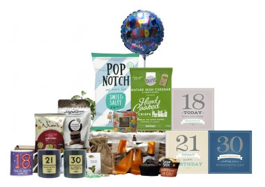 Boys 18th, 21st or 30th Birthday Basket