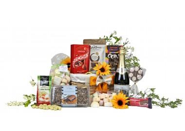 Chocolate Eruption Gift Basket
