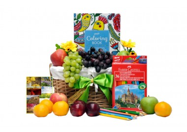 Colour Me Happy Gift Basket