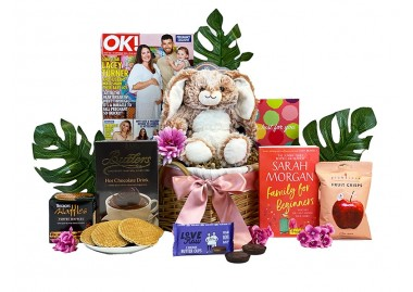 Cozy Cuddles Gift Basket New