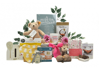 Designer Baby Shower Gift Basket