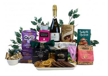 Divine Sparkling Celebration Gift Basket