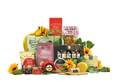 English Cheese & Wine Choice Gift
