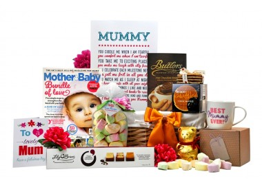 Mummy's First Mother's Day Gift Basket