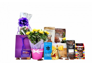 Flowers & Chocolate Basket