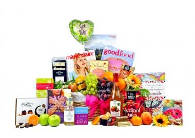 Get Well Fruit Survival Basket For Her