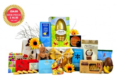 Golden Easter Basket