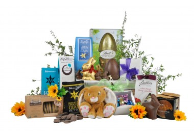 Golden Easter Basket