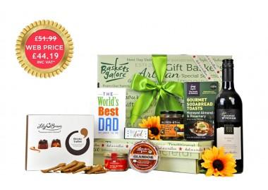 Gourmet Dad Gift Basket