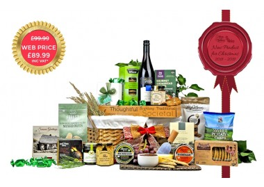 Irish Cheese & Wine Hamper