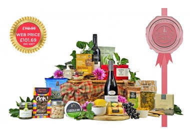 Luxury Cheese & Wine Hamper