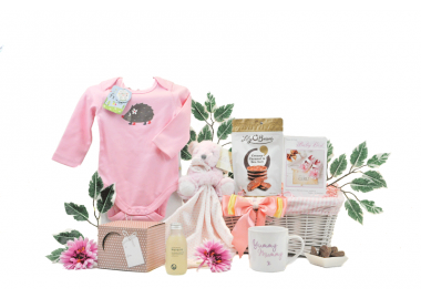 Mummy and Baby Girl Gift Basket