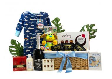 New Parents Celebration Gift Hamper Baby Boy