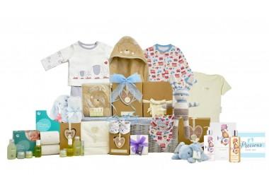 Baby Organic Family Boy Basket