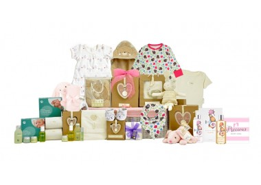 Baby Organic Family Girl Basket
