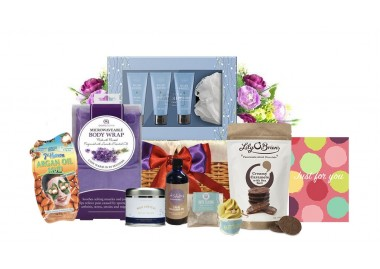 Spa At home Gift Basket
