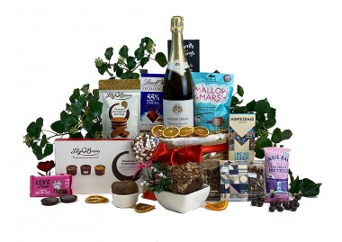 Sparkling Chocolate Eruption Gift Basket