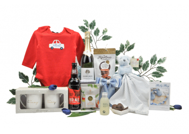 Sparkling Mummy Daddy & Baby Boy Hamper