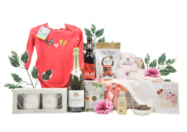Sparkling Mummy Daddy & Baby Girl Hamper