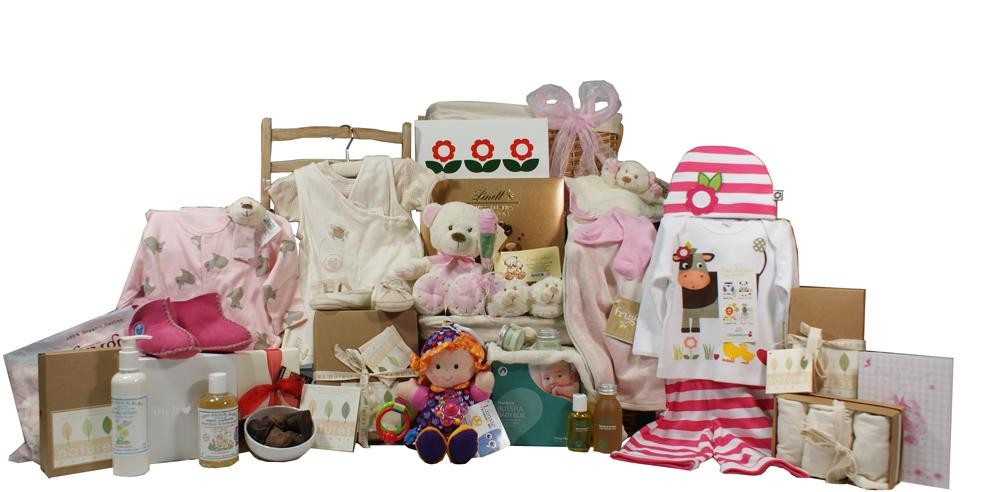 Baby Gift Baskets London England : Celebrity baby gift basket