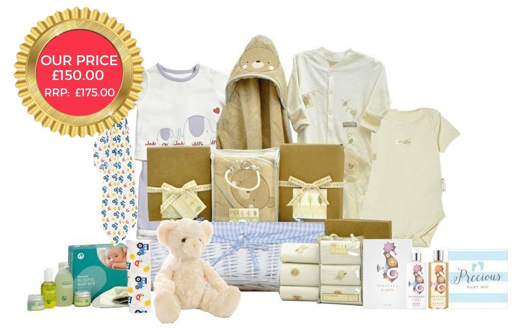 Baby Gift Baskets London England : Earth friendly baby basket