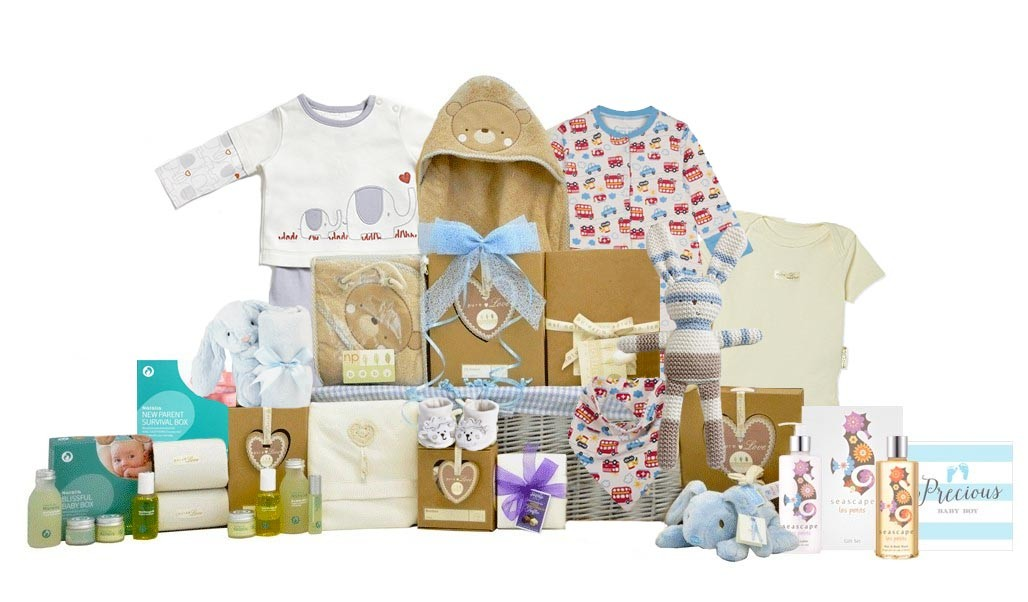 Baby Gift Baskets London England : Baby organic family basket