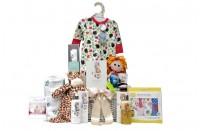 Bright Beginnings Baby Girl Gift Basket UK