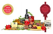 Christmas Cheese & Wine Hamper