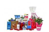 Flowers & Treats Gift Basket