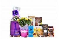 Flowers & Chocolate Basket