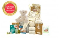 Organic Baby Neutral gift basket
