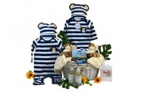 Twins Delight Boy Gift Basket