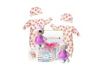 Twin Playtime Baby Girls Gift Basket