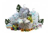 Twin Treasures Neutral Baby Gift Basket