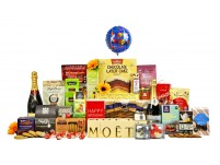 Champagne Birthday Bakers Distinction Hamper Gift