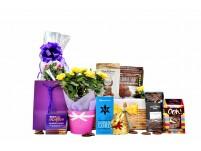 Flowers & Chocolate Gift Basket