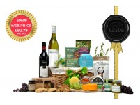 Great Taste Award Chrome Duo Hamper