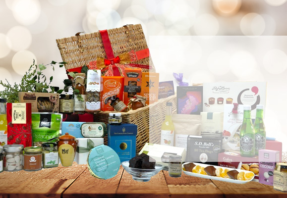 Gift baskets and hampers for delivery to london england great taste award diamond hamper negle Image collections