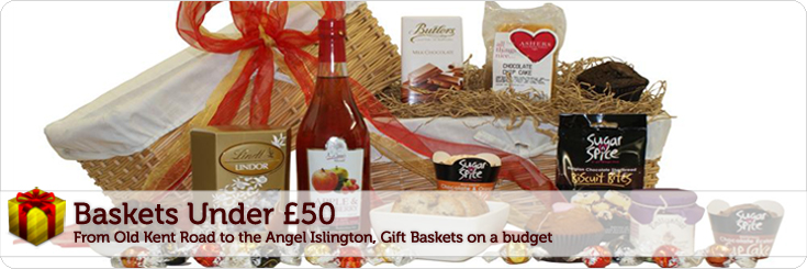 Baby Gift Baskets London England : Gift baskets under ? christmas hampers baby gifts
