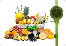Fruit Oasis Basket