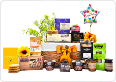 Gift baskets and hampers for delivery to london england good fortune basket negle Image collections