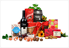 Red Hot Lava Gift Basket