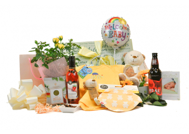 Baby & Parents Flowering Gift Box