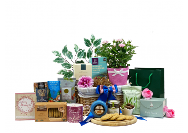 Mother's Day Flowers and Savoury Gift