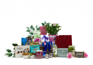 Mum's special gift basket