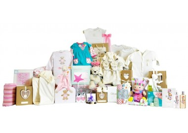 Timeless Baby Girl Basket